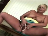 Perv makes a naughty grandma goes wild with his sharp tongue