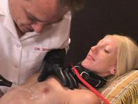 Boney Blonde BDSM Bondage Bitch