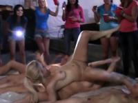 Dykes Play Naughty Games DuringSororityHazing