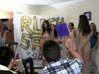 Sorority Newbies Get Naked And Auctioned To Frat Guys