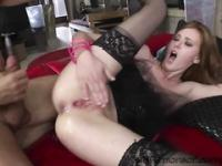 Linda and Dominica gets a messy hot cum from the studs Rocco and Markus