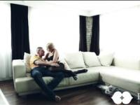 Stunning Hot Blonde gets Fucked on the sofa