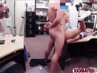 Sexy medical assistant rides a dick and gets rammed for cash