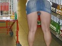 German Housewife Upskirt