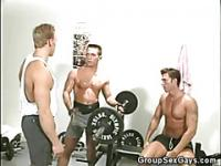 Gym Buddies Trying Out Gay Sex