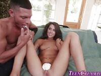 Bendy teen cream filled