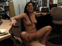 Sexy Brazilian Veronica receiving a hot cum