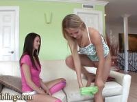 Naughty stepsister climax