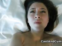 Cute Daisy cumming at her XXX private casting