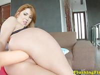Fist fetish slut Hanna Montada solo