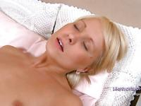 Blonde gets her ass nailed