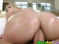 AJ Applegate butt fucking with big cock