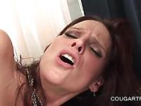 Orgasm starved cougars humping phallus