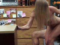 Tight bimbo milf sells her car and boned