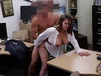 Business lady fucked for a plane ticket