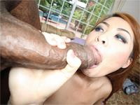 Kim Blossom interracial