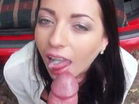 Lady doctor Leyla's shaved pussy