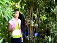 Thai Sex in the Forest from iyottubedotcom