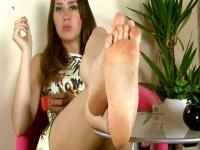 Smoking italians hot toes