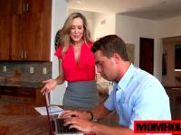 MILF Brandi Love gives the best massage