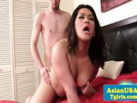 Anal action with asian tgirl Lisa Long