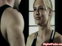 Sporty teen cutie fucked by her boxing coach