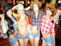 Hot Cowgirl Party turns into a wild sex orgy