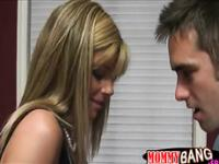 Stepmom Kristal Summers horny threesome