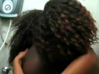 Black Lesbians Kissing And Licking