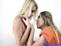 Busty english lesbian action with Lexi Lowe