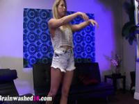 Amateur teen toys snatch