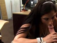 Brunette Amateur Point Of View Blowjob In Pawn Shop