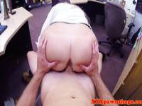 Bigbooty amateur facialized for cash