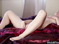 Frechen Tits Candy Sweet solo Masturbation