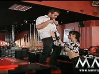 Stripper alemana se la follan duro en el club