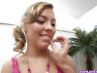 Lesbo Teen Ally Kay Gets Licked & Fingered part 1