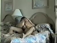 Wife in pantyhose rides his schlong the one and the other ways.avi