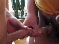 Gay handjob and masturbation