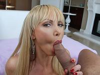 Lovely hot chick Nikki Benz wanted a hard dick