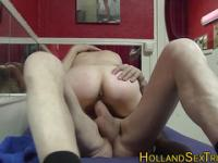 Mature dutch hooker fucks