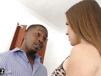 WANKZ - White Girl Stretched Out By Big Black Cock!