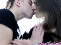 Teen girlfriend railed