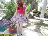 Ginger ho rides black rod