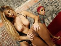 Tasha Reign And Skin Diamond Have Some Lesbian Fun