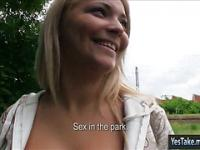 Busty Czech girl Lana pounded for cash