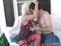 Neighbor is a horny MILF