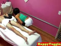 Tattooed asiansex masseuse fucks and sucks