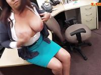 Busty wife in need of money gets pounded