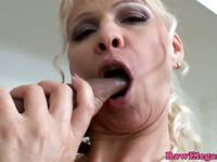 Mature pornstar Winnie assfucked by a bbc pov