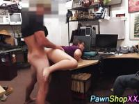 Plump amateur gets pumped